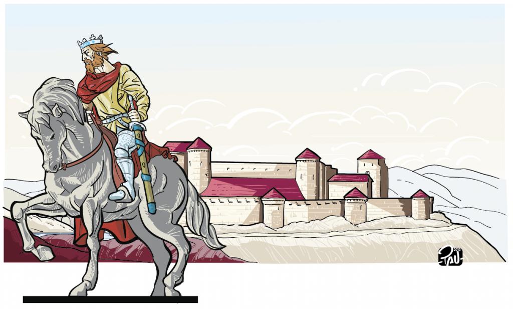Ilustraciones para restaurante temático